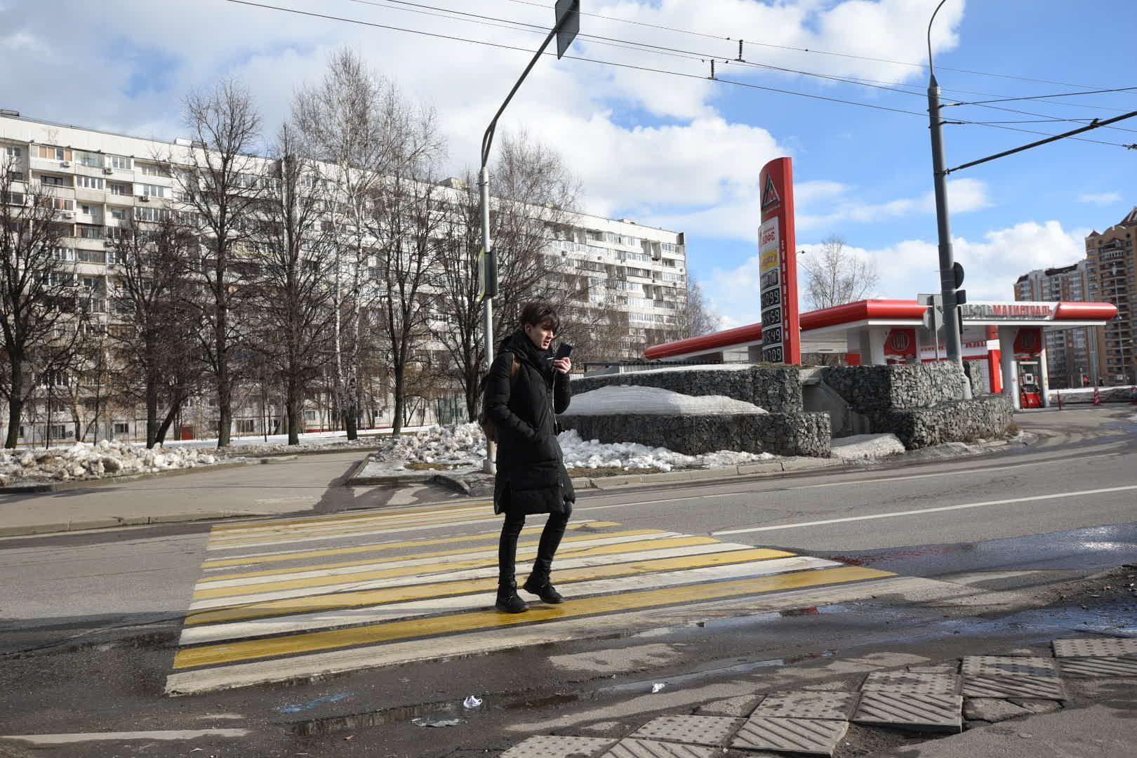 Пешеходный переход сделают безопасным