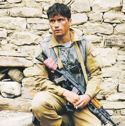 Кадр из фильма «Братство», на фото актер Антон Момот