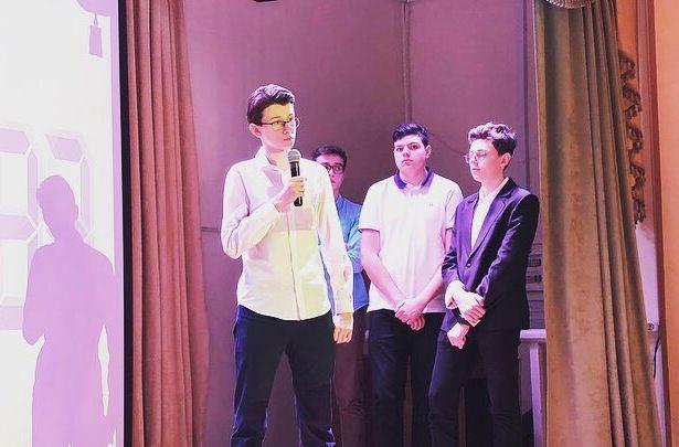 Ученики школы №1257 посоревновались в словесном мастерстве. Фото предоставил председатель Молодежной палаты Даниловского района Виктор Ленберг