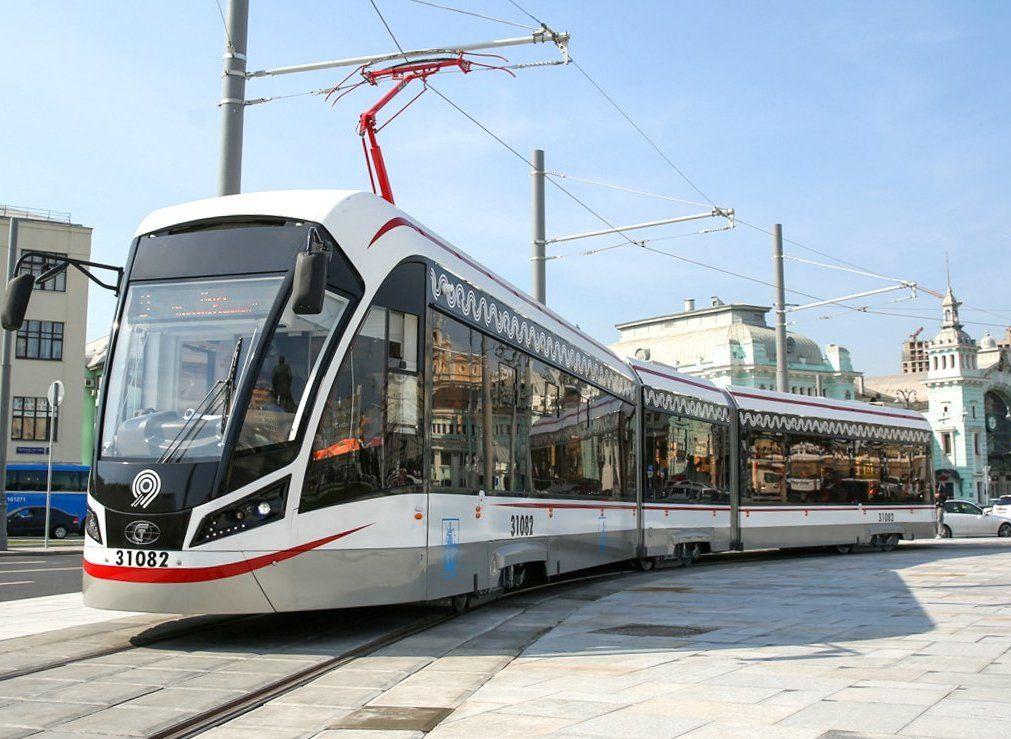Почти 100 миллионов пассажиров воспользовались трамваями «Витязь-М» с момента их появления