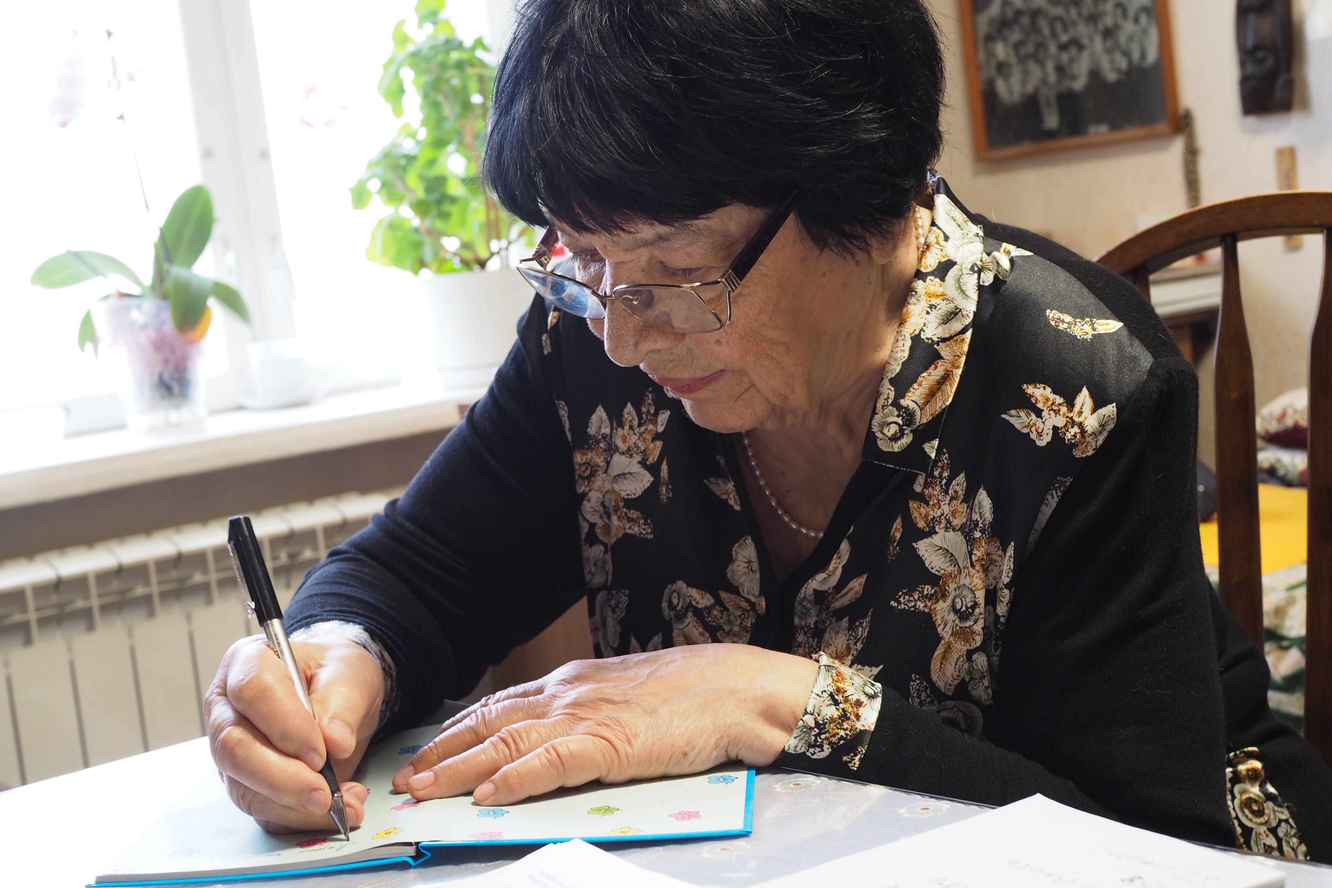 23 февраля 2019 г. Римма Петровна у себя дома. Фото: из личного архива