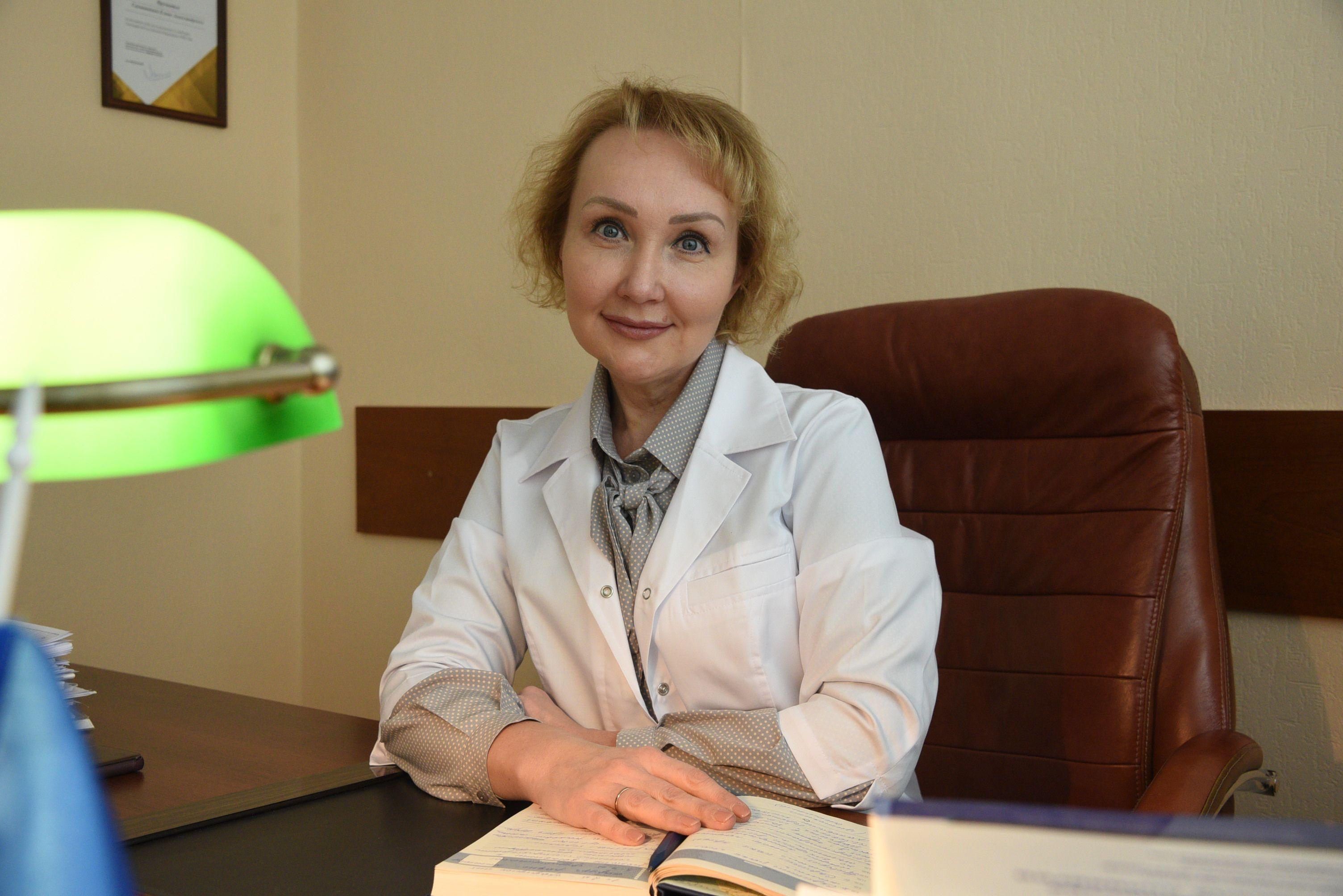 Елена Самышина: Всегда мечтала быть доктором
