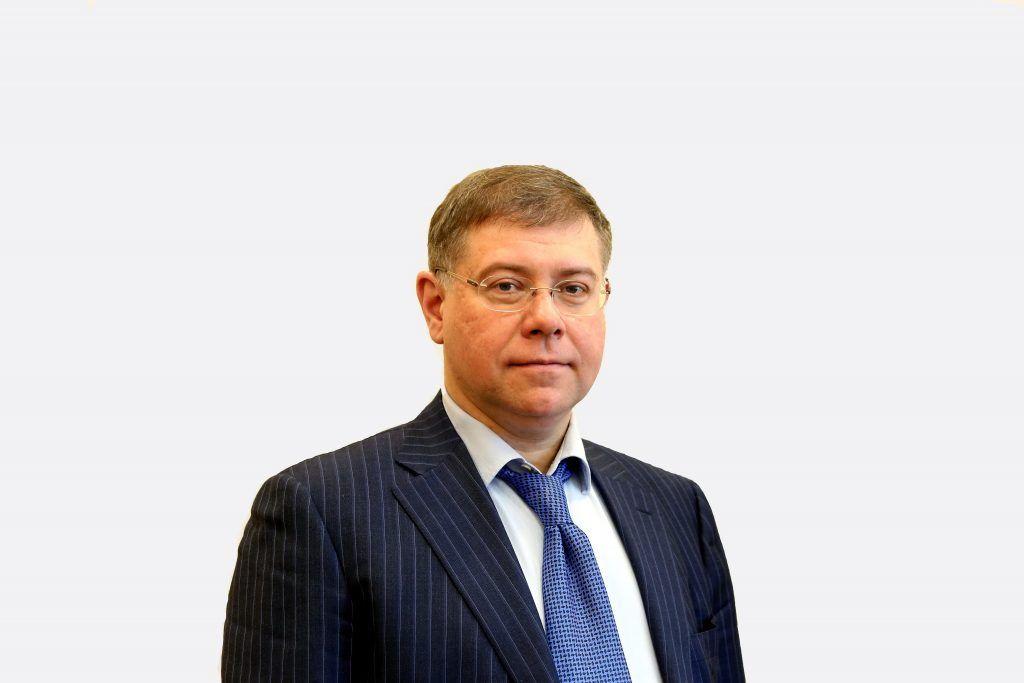 На фото депутат Московской городской думы Степан Орлов