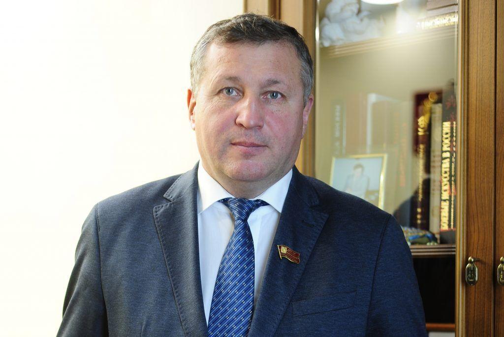 На фото депутат Мосгордумы Сергей Зверев