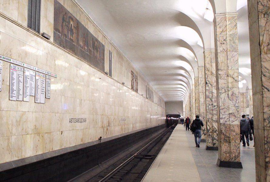 Студенты техникума имени Леонида Красина исследуют историю станции метро «Автозаводская»