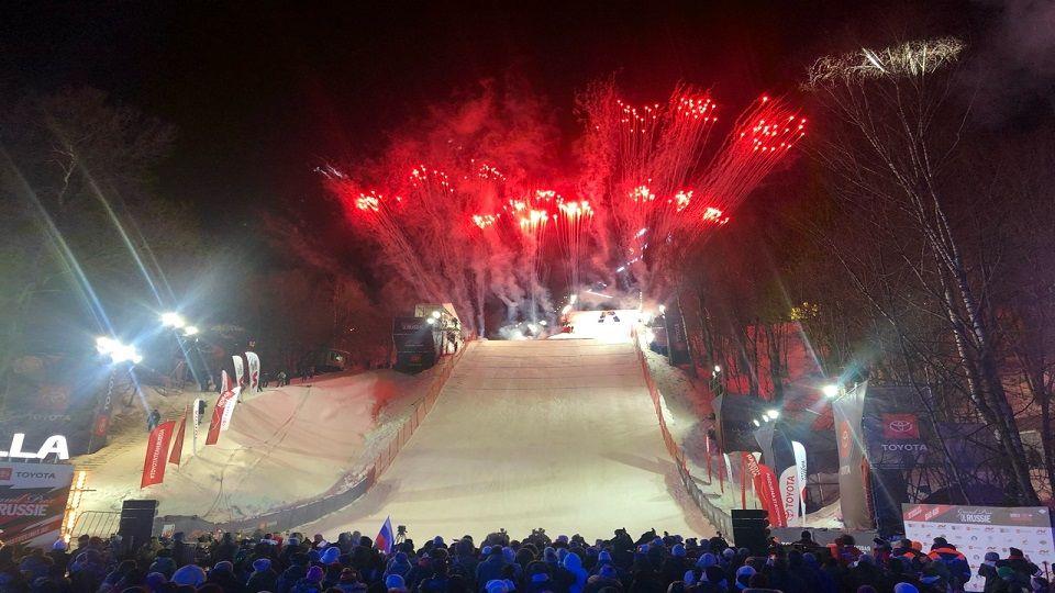 Мировой турнир по сноуборду Grand Prix de Russie прошел в столице