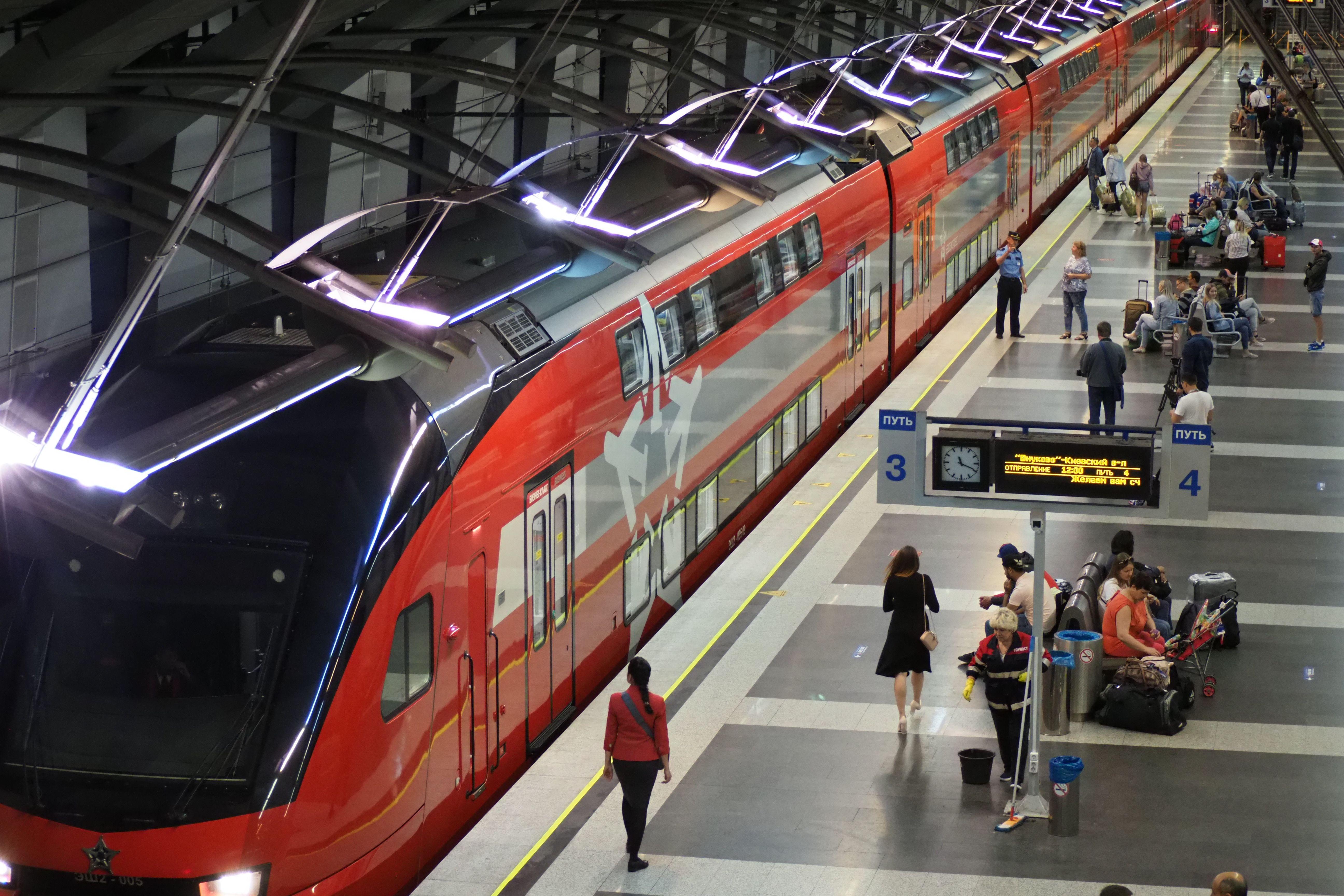 На территории аэропорта «Внуково» построят станцию метро. Фото: Антон Гердо, «Вечерняя Москва»