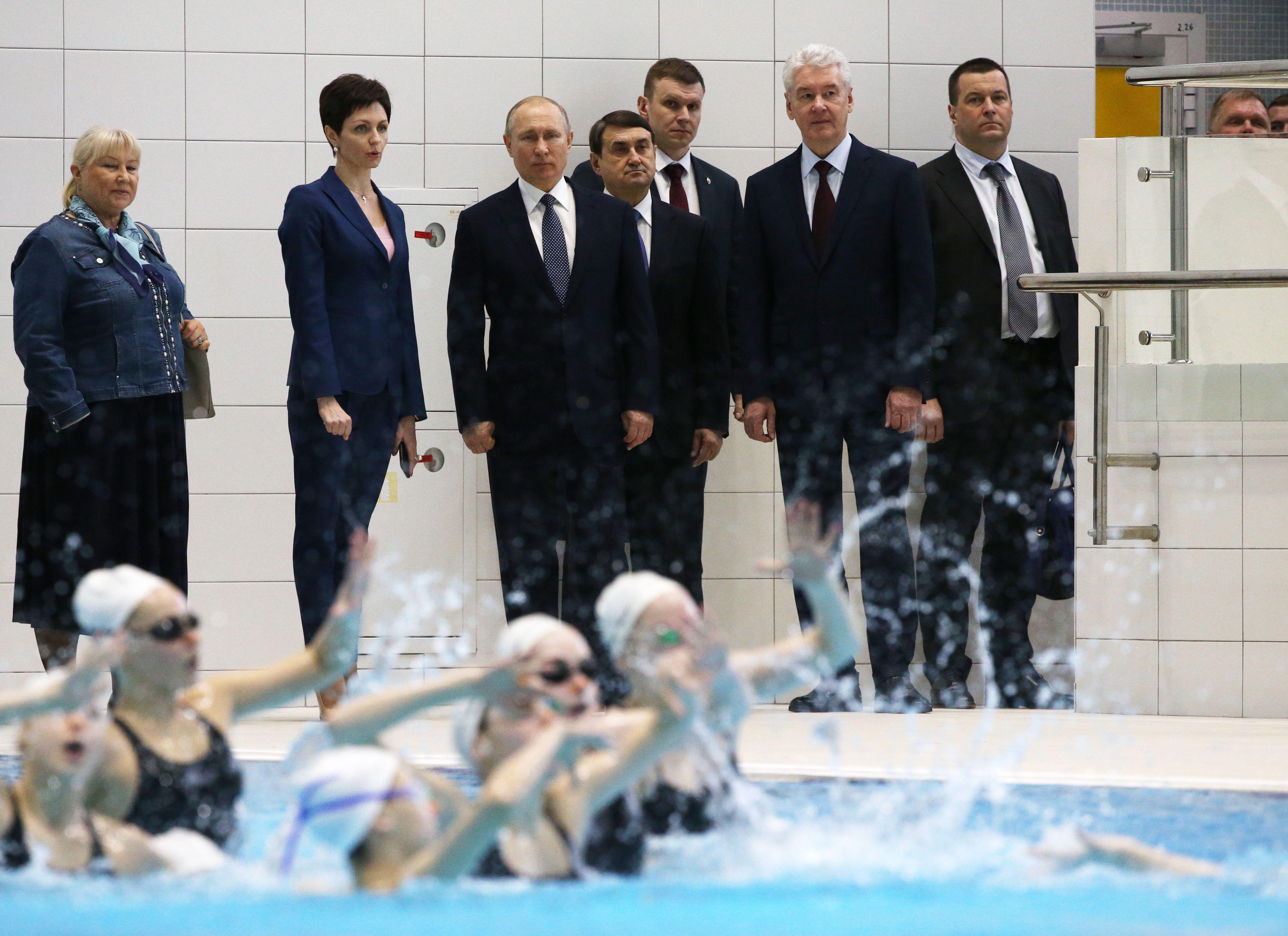 Сергей Собянин рассказал Владимиру Путину об интересе москвичей к спорту