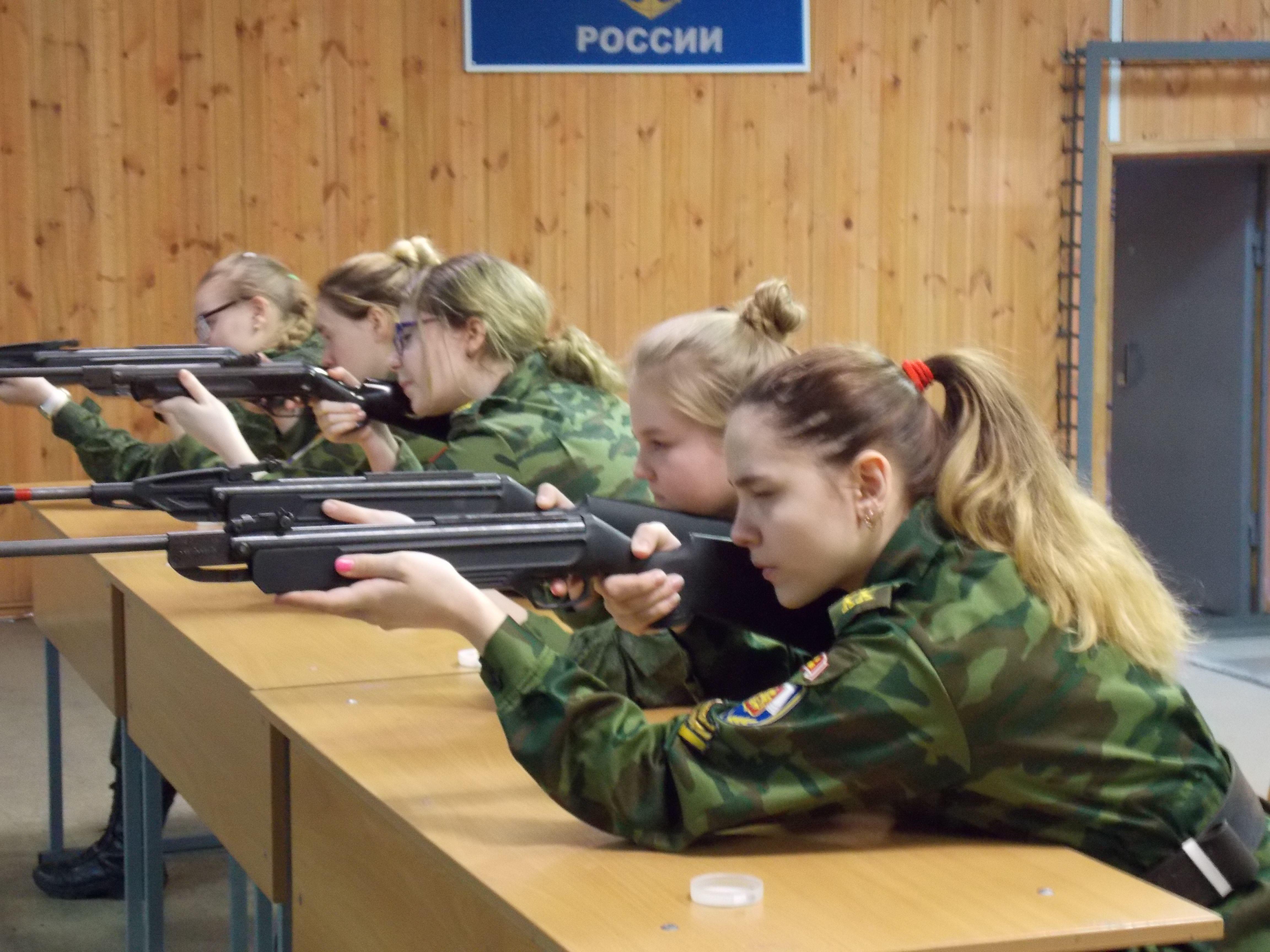 Соревнования по пулевой стрельбе, посвященные Международному женскому дню 8 марта