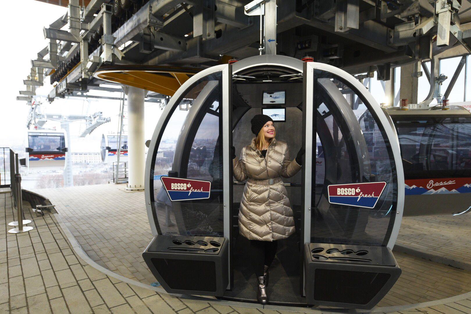 Москва выберет инвестора для второй канатной дороги