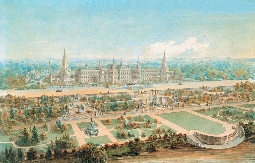 Нереализованный проект дворца для Николая I. Фото предоставила пресс-служба «Коломенского»