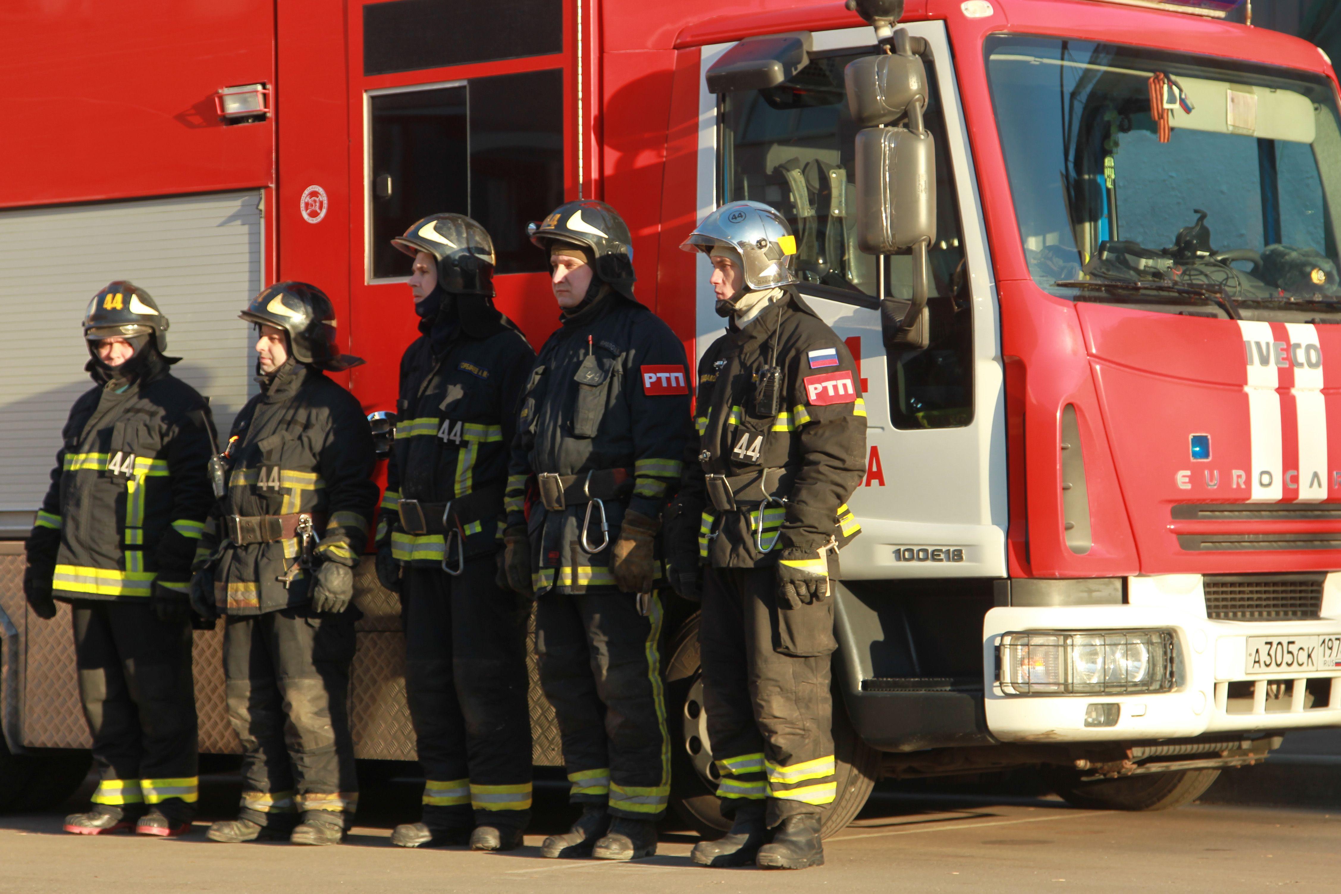 Москва приготовила 650 единиц пожарной техники к лету