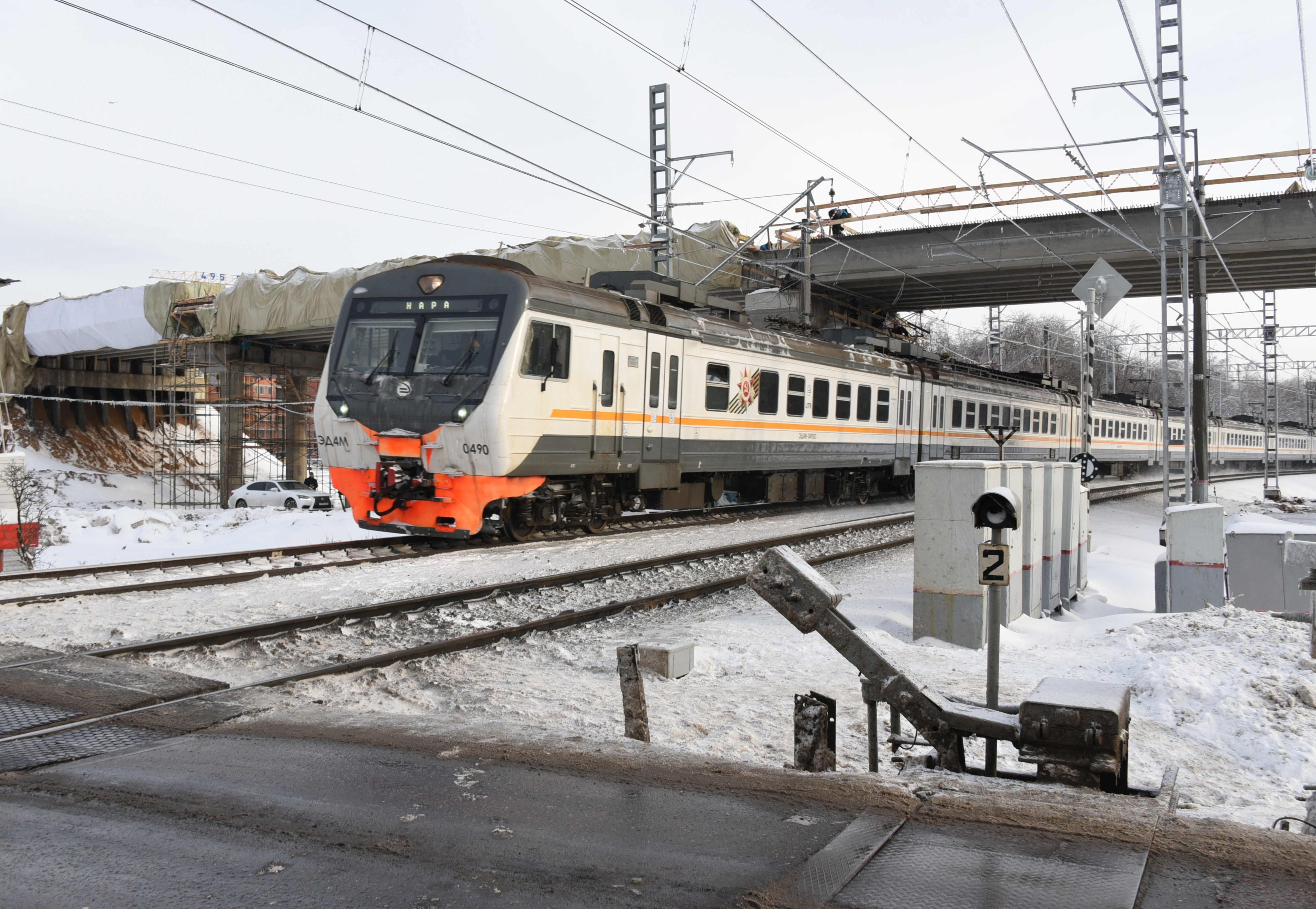 Московская железная дорога отремонтирует около 450 километров путей
