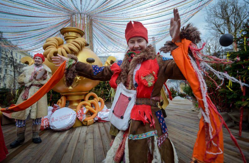 Фестиваль «Московская Масленица» принял почти пять миллионов человек
