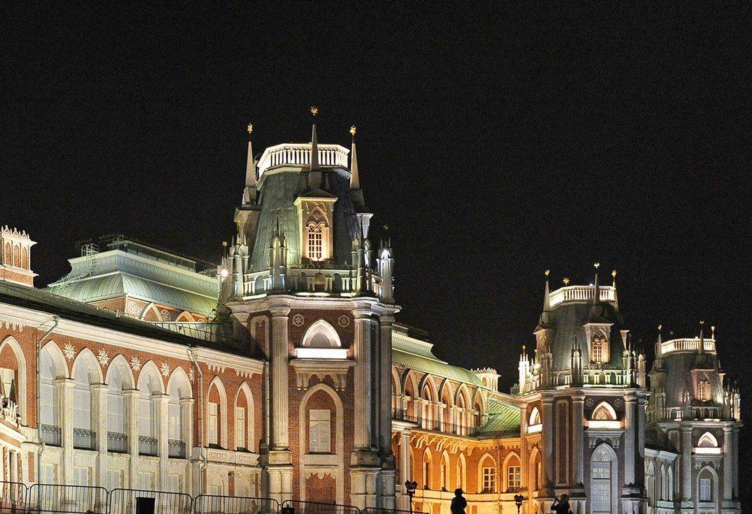 Подсветка дворцового ансамбля в «Царицыне» погаснет на час