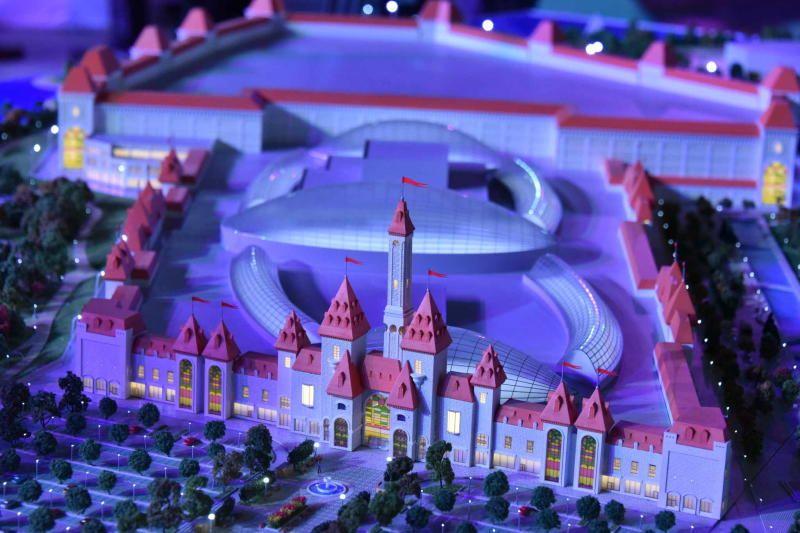 Мир мультфильмов воссоздадут в «Острове мечты»
