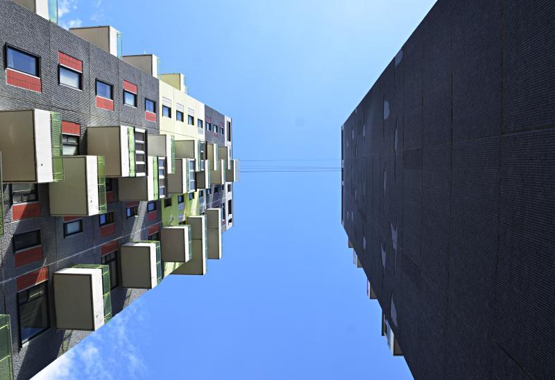 Квартиры в доме на территории Даниловского района оснастили прозрачным потолком
