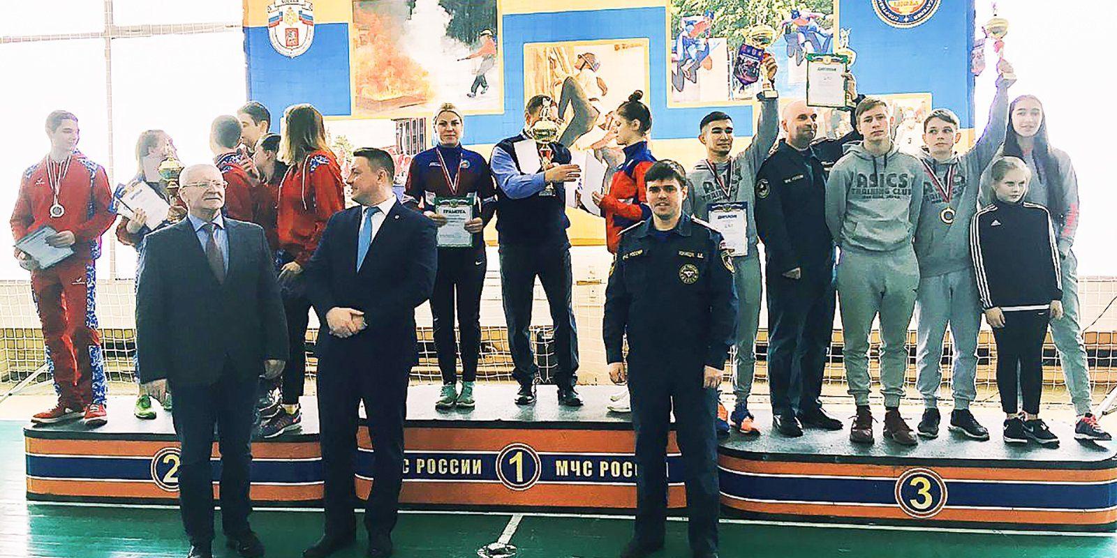 Команда Департамента ГОЧСиПБ завоевала главный Кубок Москвы