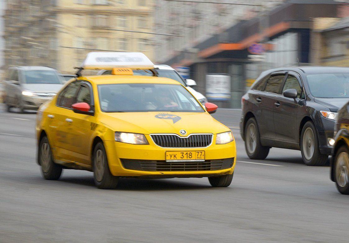 Желтые машины: в столице за девять лет появилось более 40 тысяч автомобилей такси