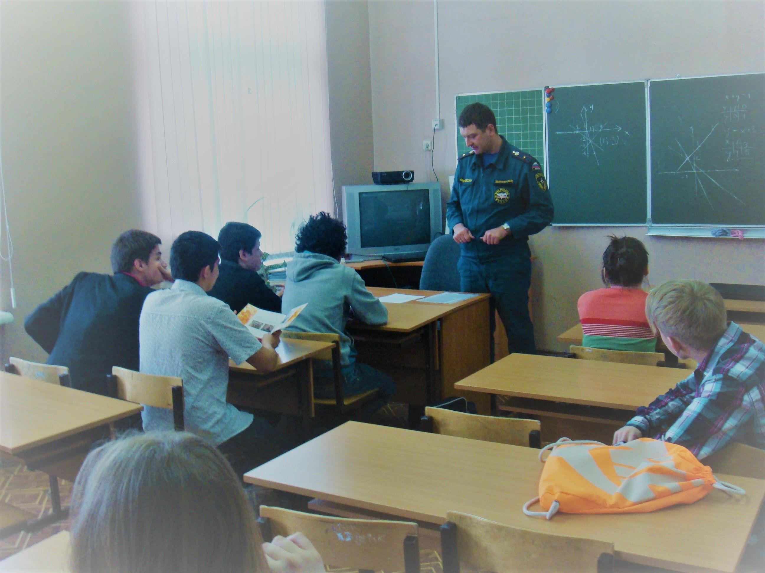 Проведение открытых уроков по гражданской обороне