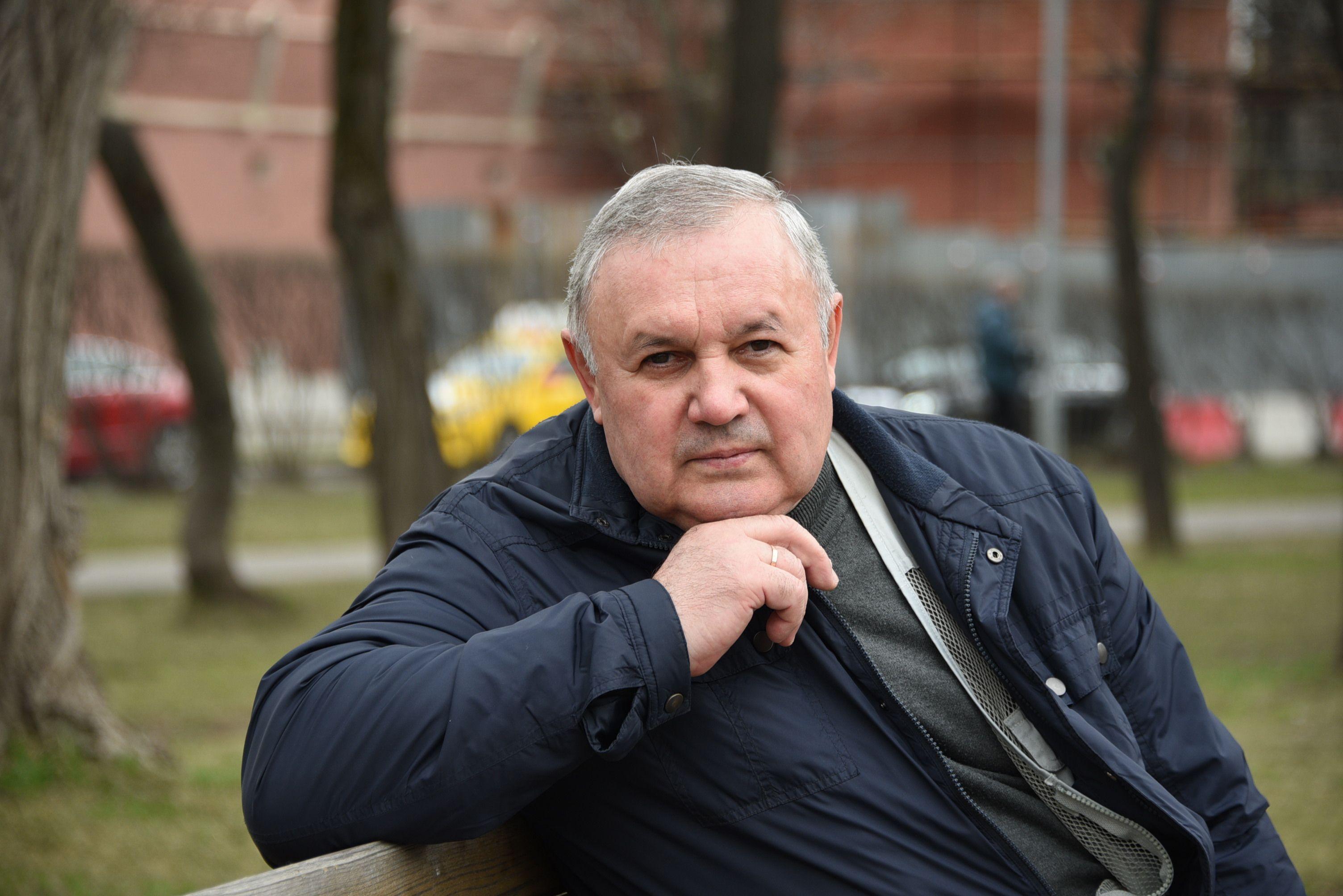 20 апреля 2019 года. Ликвидатор последствий аварии на Чернобыльской АЭС Юрий Чебан не жалеет о том, что 33 года назад рисковал здоровьем ради спасения людей. Фото: Пелагия Замятина