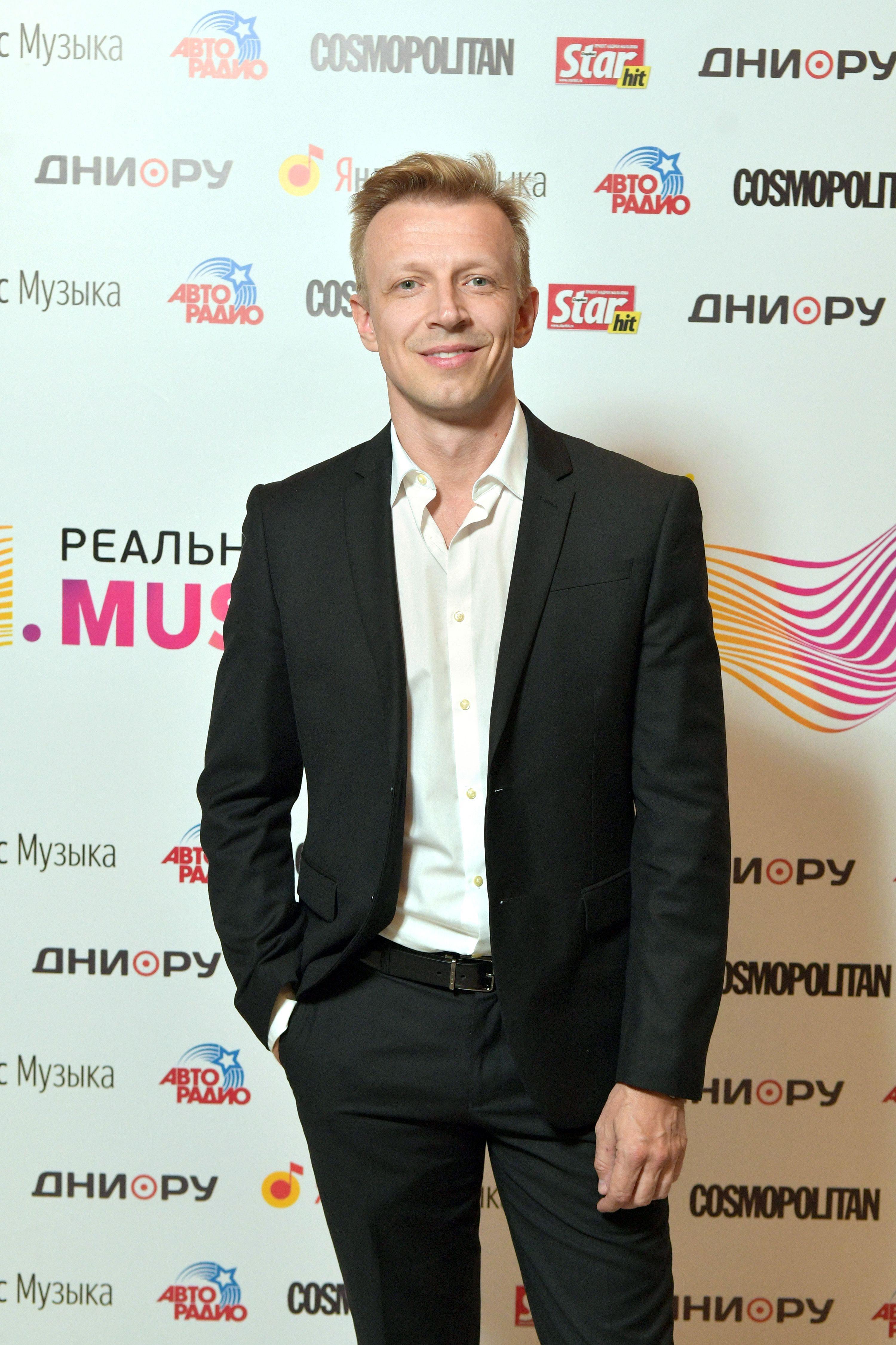 30 сентября 2018 года. Антон Комолов на VI Реальной премии MusicBox 2018. Фото: PERSONASTARS