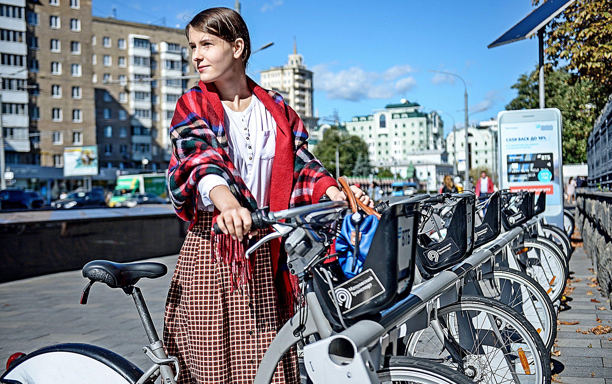 Москва откроет сезон велопроката 25 апреля
