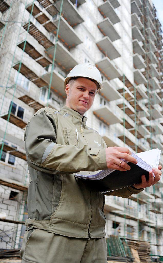 26 марта 2019 года. Сергей Васильев, начальник строительного участка на Изумрудной улице. Фото: Светлана Колоскова