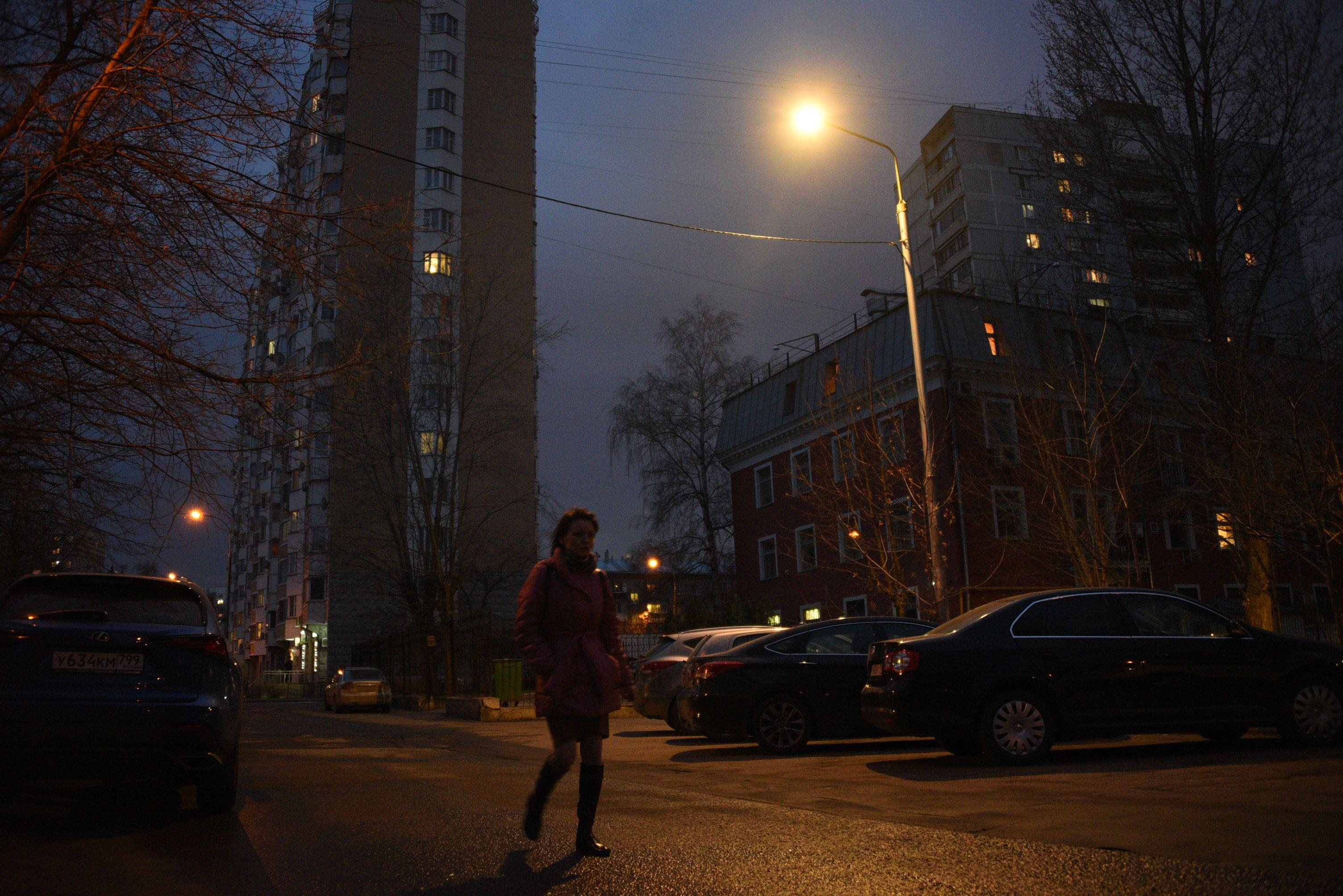 Прогулки при свете фонарей