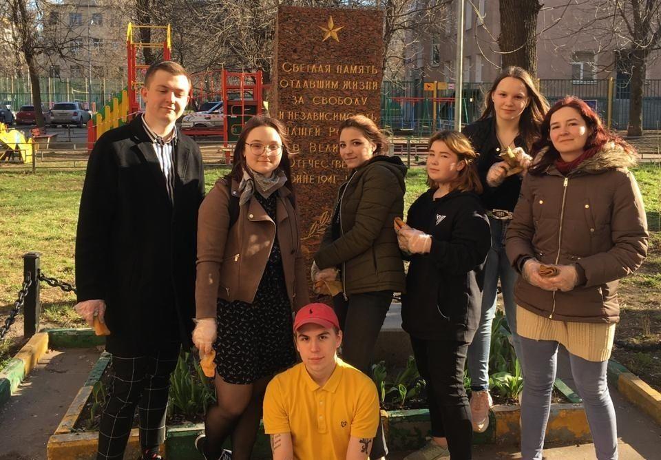 Два памятника в Даниловском районе привели в порядок. Фото предоставил председатель Молодежной палаты Даниловского района Виктор Ленберг