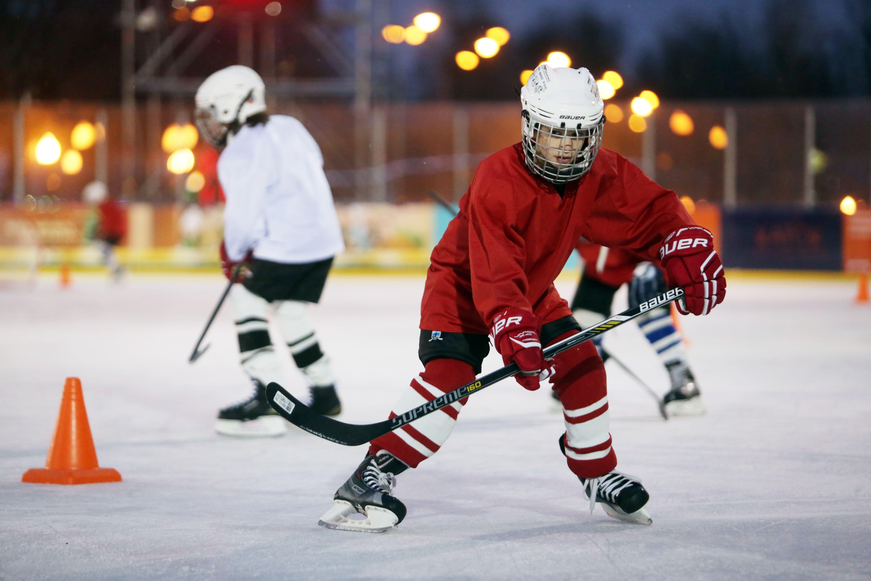 Хоккейную коробку с искусственным льдом откроют в Усадьбе Люблино
