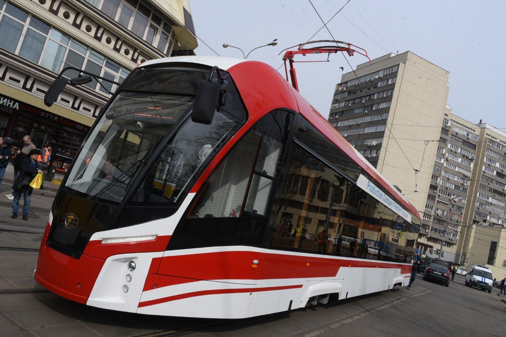 К 2024 году в Москве полностью обновят парк трамваев