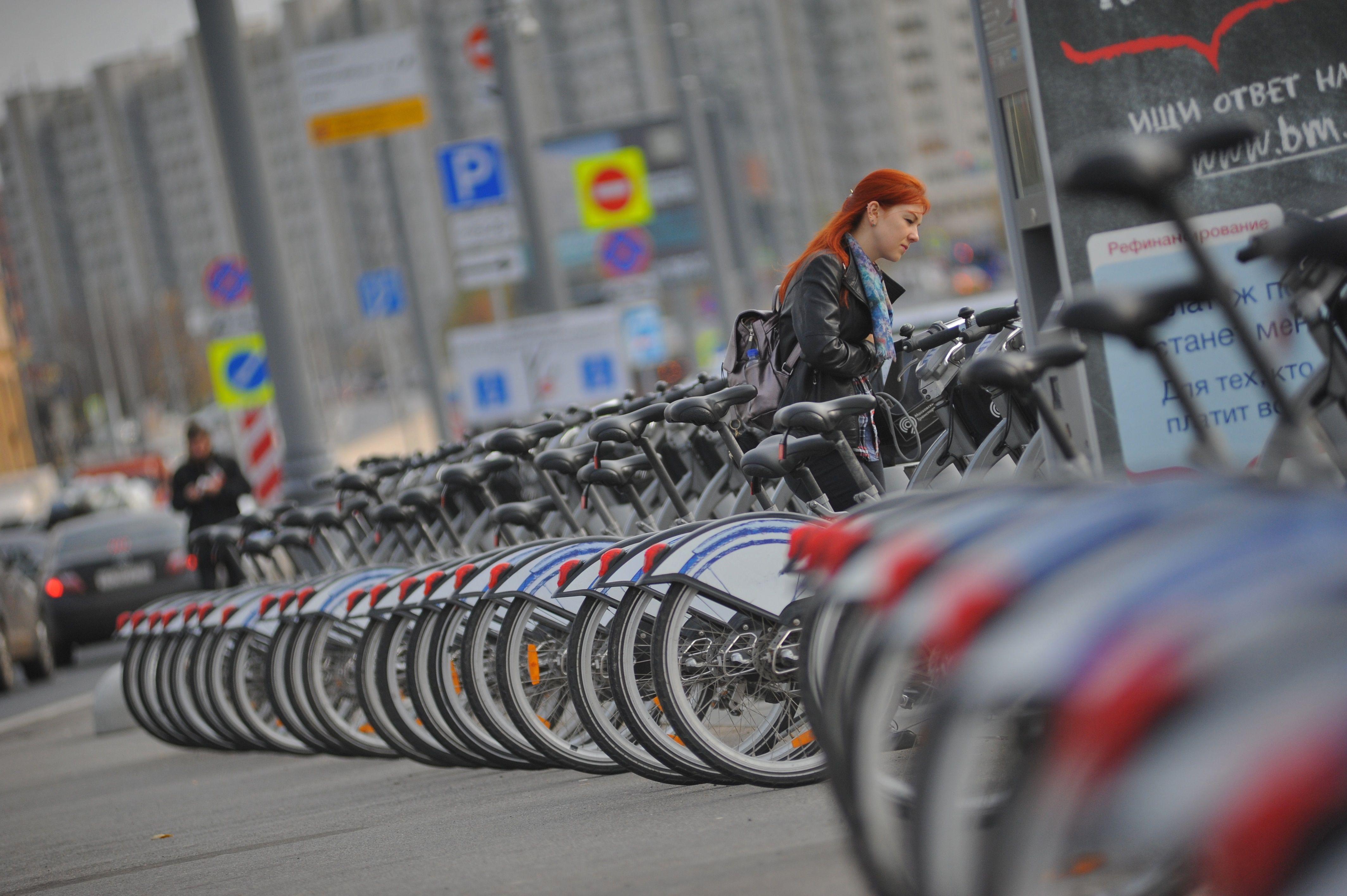 На юге Москвы откроют новые пункты велопроката