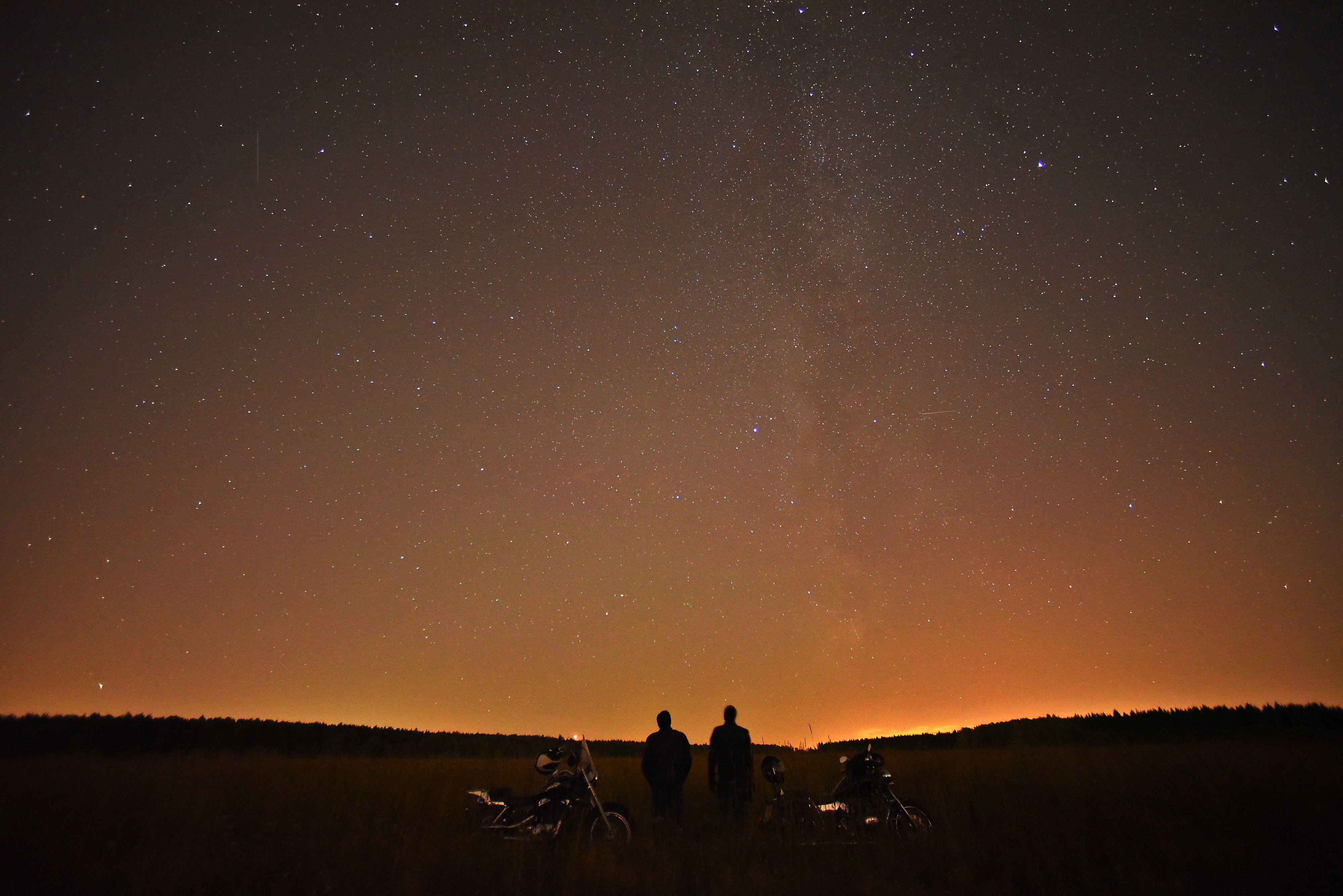 Апрель подарит москвичам первый звездопад весны