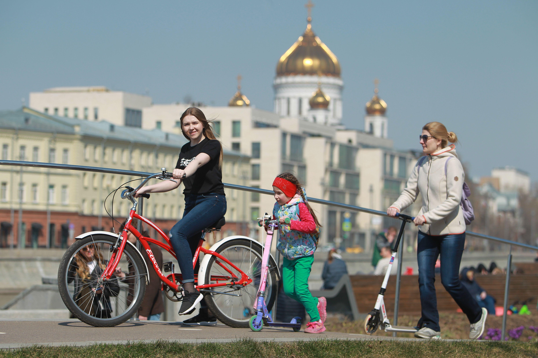 Апрель в Москве может стать самым сухим за последние девять лет