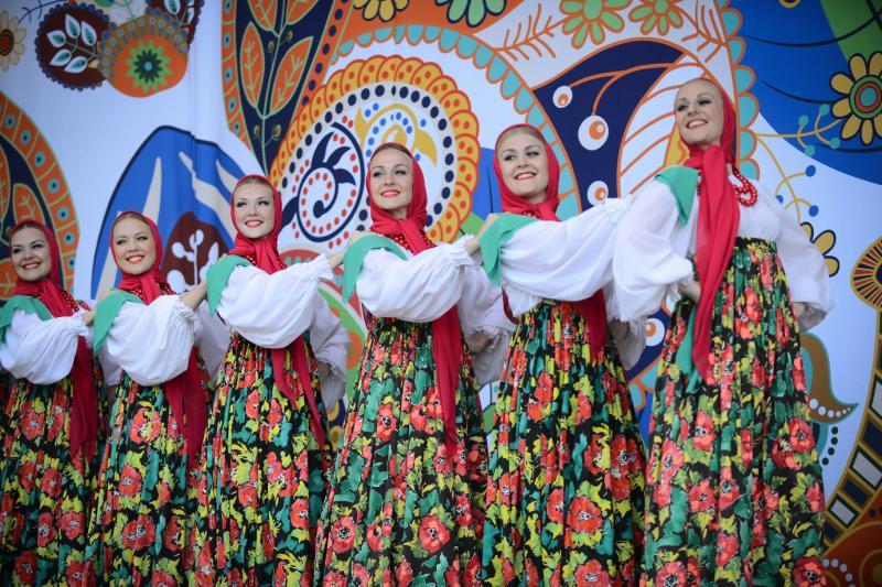 Активные москвичи составят программу фестиваля «Русское поле». Фото: архив, «Вечерняя Москва»