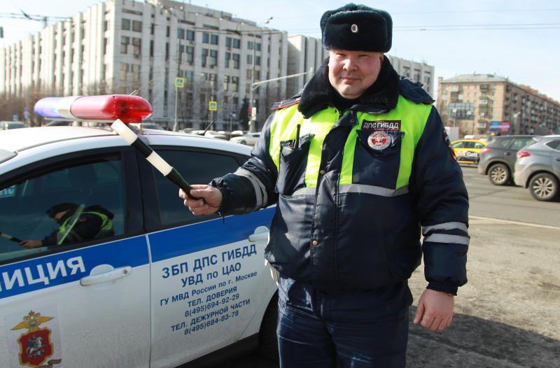 В Южном округе Москвы автоинспекторы задержали нетрезвого водителя