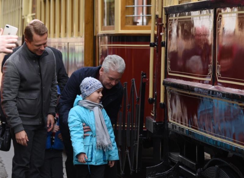 Собянин рассказал о темпах обновления трамвайного парка Москвы
