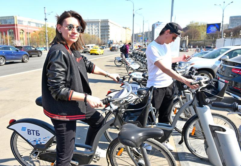 За 7 лет сеть городского велопроката в Москве выросла почти в 10 раз
