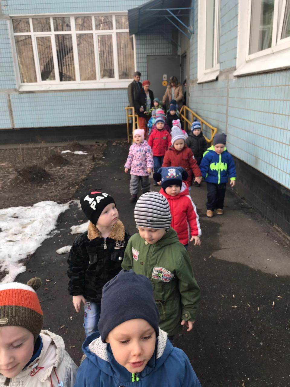 Эвакуация в образовательном учреждении