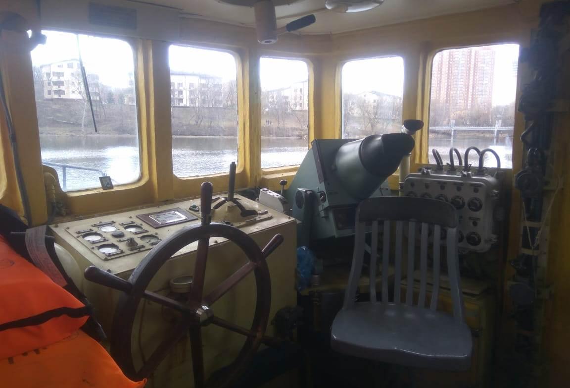 Курсанты Московской академии водного транспорта прошли практику на теплоходе