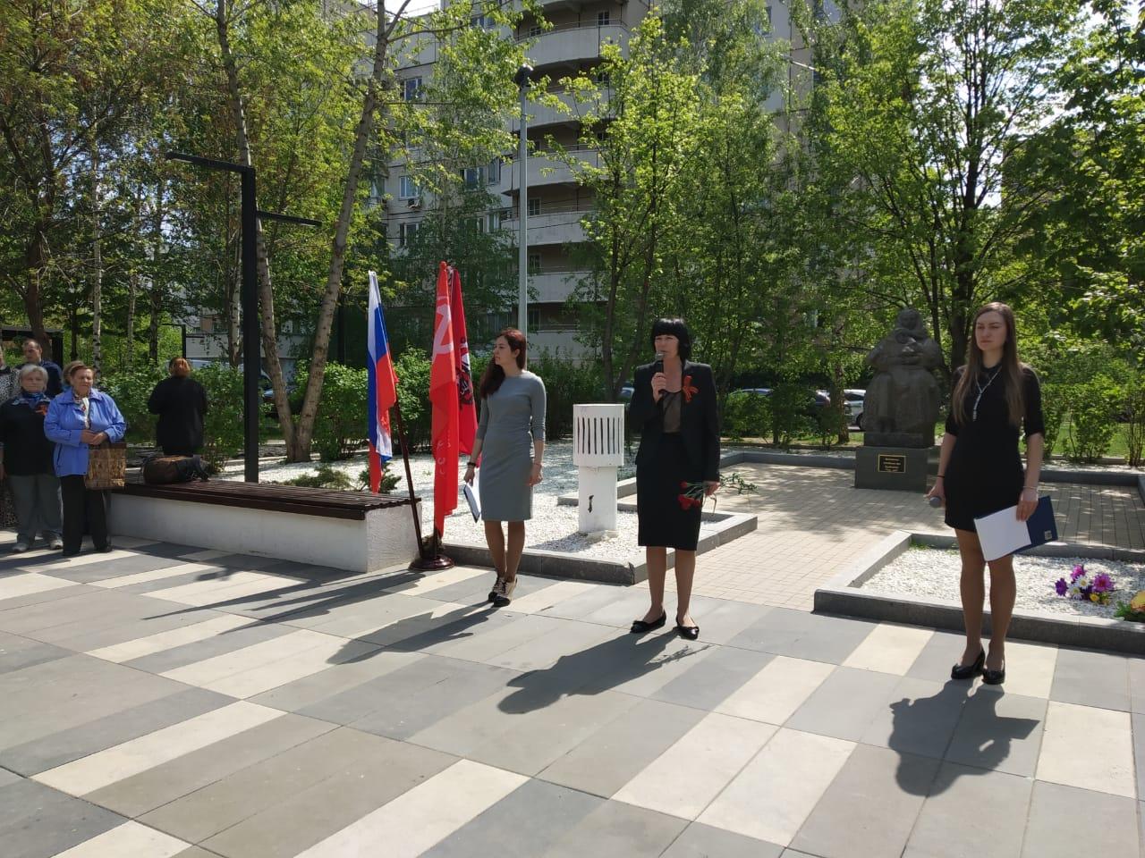 Вахту памяти провели в Даниловском районе