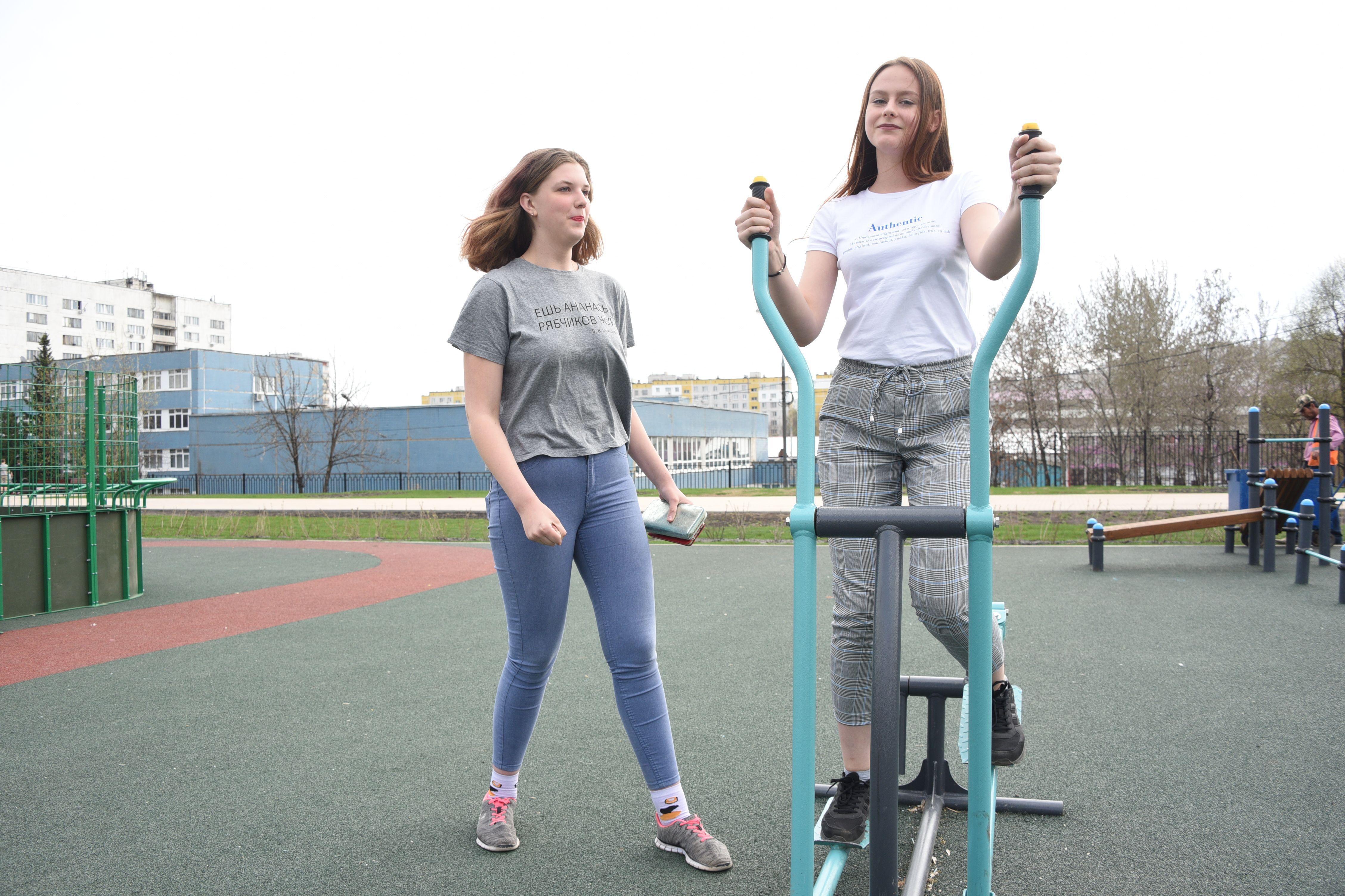 Тренировки под открытым небом