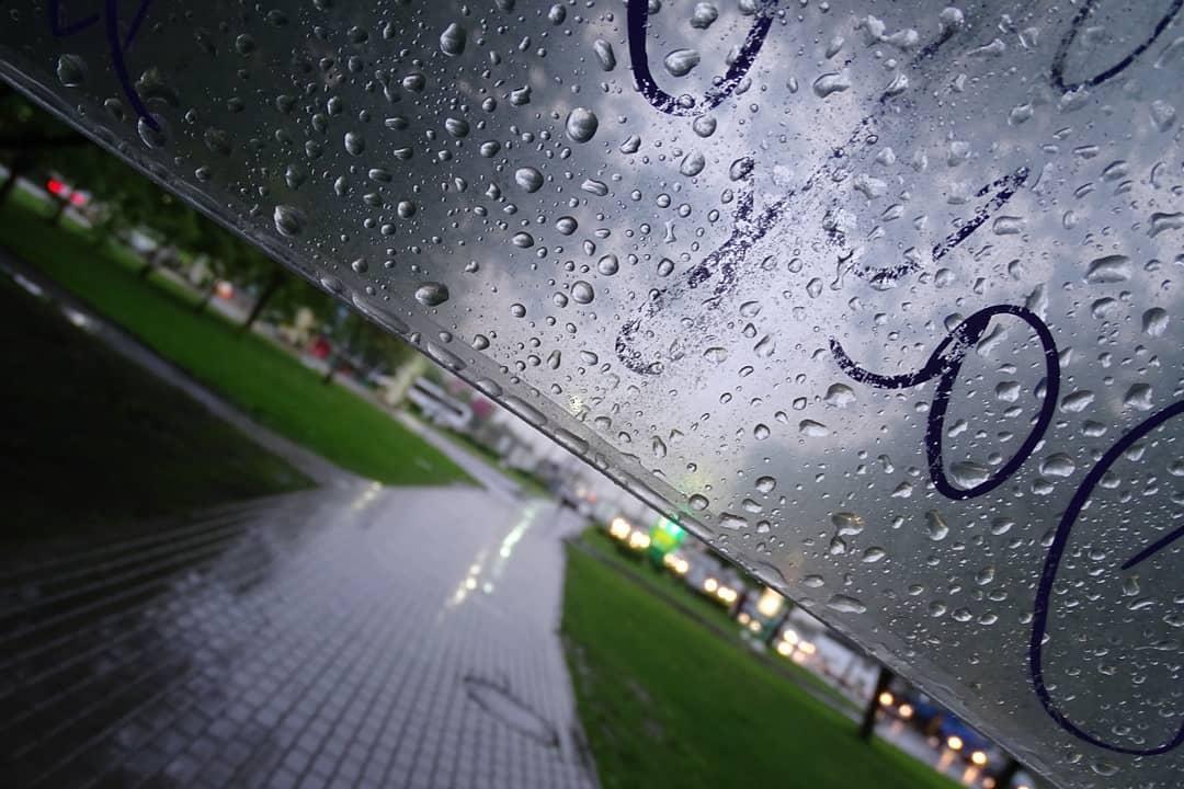 Прогулка под дождем: народный корреспондент не испугался плохой погоды