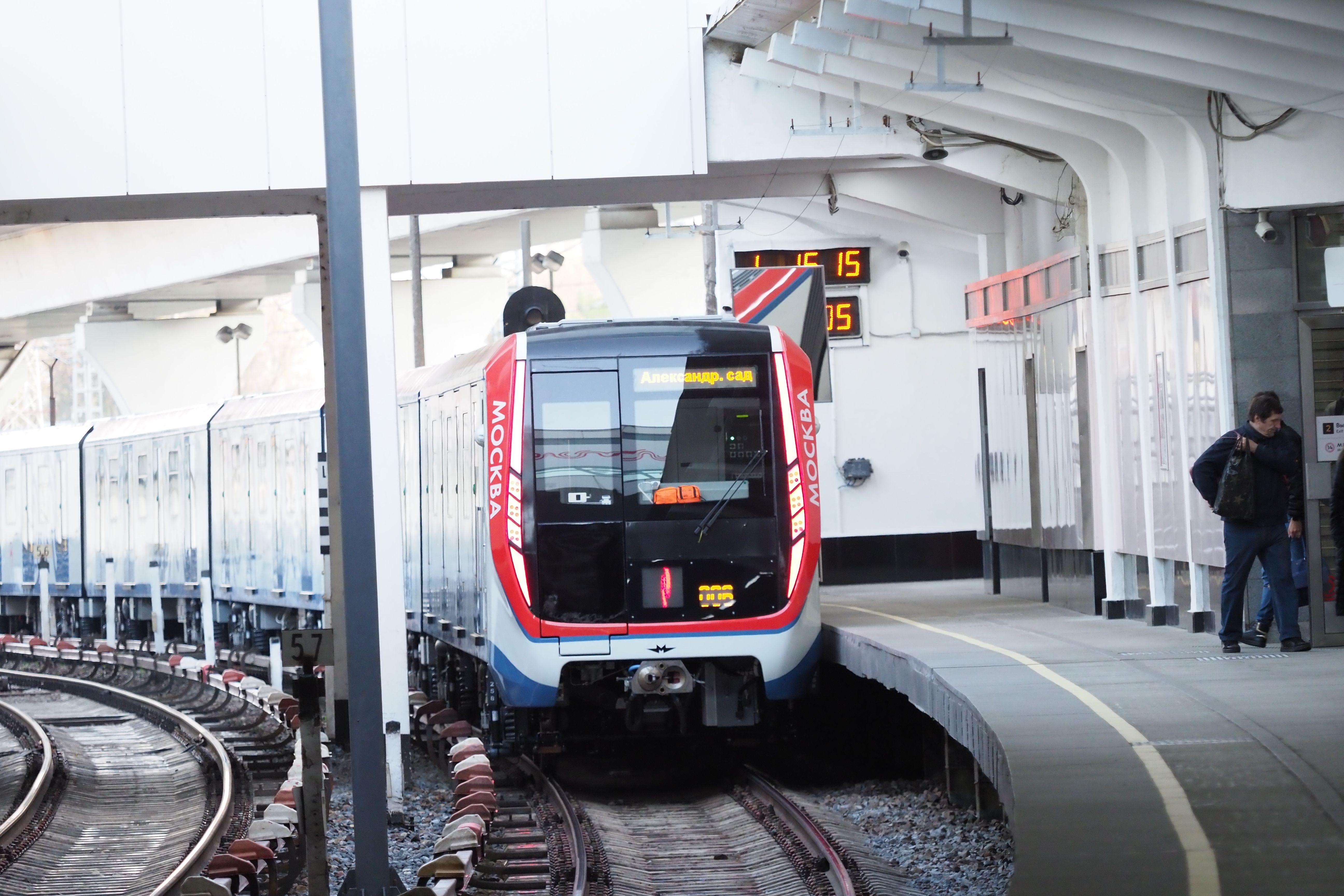 Метро Москвы закроет часть Филевской линии на два дня