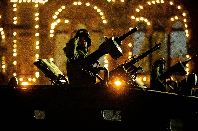 Вторую репетицию парада Победы провели ночью в Москве