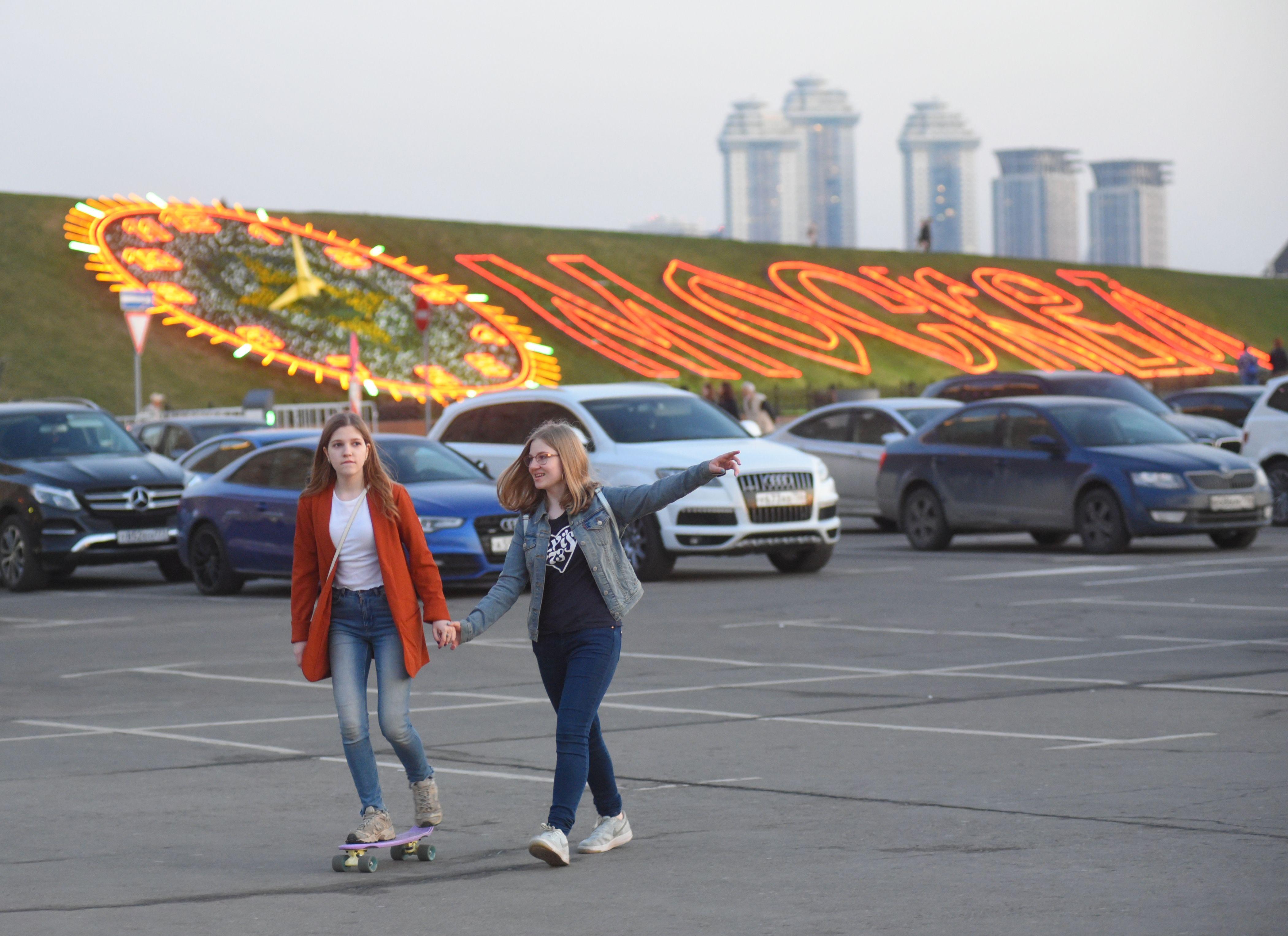 Первое мая подарит жителям Москвы 16 градусов тепла