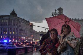 Москвичей ждут грозовые ливни. Фото: Пелагия Замятина