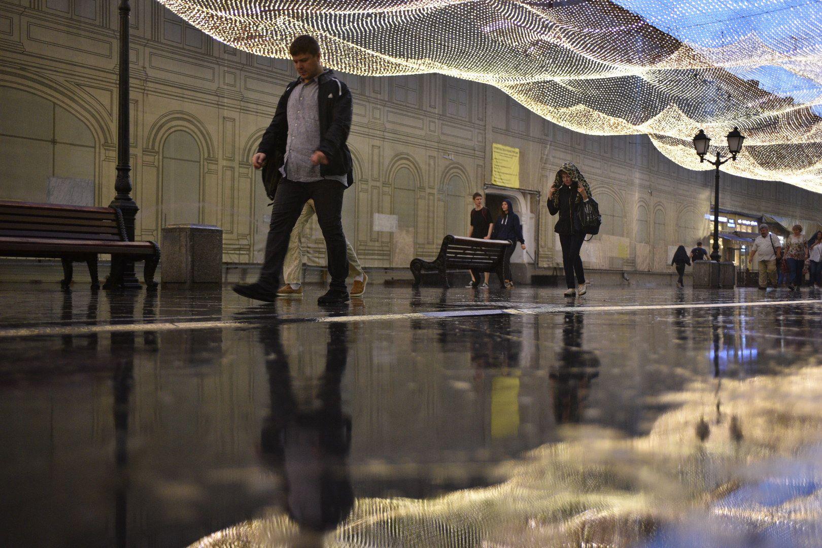 Москву захлестнет новая волна дождей