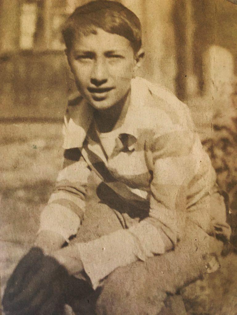 Школьные годы ветерана. Фото из личного архива